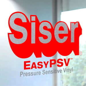 "Siser Easy PSV Self-Adhesive Permanent Craft Vinyl 12"" By The Yard Roll(s)"