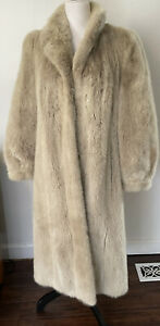 Vintage Blonde  Full Length MINK Coat - Size M/ L