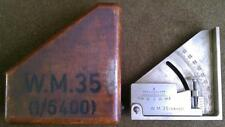 STENCIL W.M.35 1/6400 WW2 WWII GERMAN ARTILLERY CLINOMETER WINKEL MESSER 35 BOX