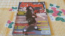 MAGAZINE METAL HAMMER 95 - METALLICA - IRON MAIDEN - AC/DC - KREATOR BENEDICTION