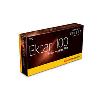 Value 5 Pack Kodak Ektar Professional 100 ASA 120 Roll Film Colour Print Film