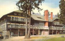 Glacier National Park Montana 1960s Postcard Lake McDonald Hotel