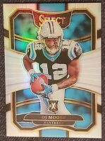 2017 (2018) DJ Moore Select XRC Rookie Card Silver Holo RARE!! Mint! 🔥 Panthers
