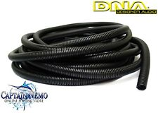DNA SPLIT CORRUGATED BLACK FLEXIBLE CONDUIT LOOM TUBE 10MM X 10 MTR ROLL WLT1010