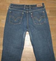 "LEVI`S 627 STRAIGHT FIT Damen- Jeans / LEVIS in blau ca. W32"" /L29"""