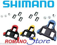TACCHETTE PEDALI SHIMANO ROAD CLEATS ORIGINAL SM-SH10 SM-SH12 SM-SH11 SPD SL