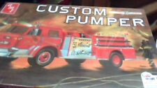fire truck custom pumper amt 1/25th american lafrance nib sealed