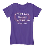 Adopt Cats! - I Cats Because Can't Have Any Of My Women's Premium Tee T-Shirt