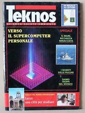Teknos - settembre 1994 - lecce, pulsar, supercomputer,