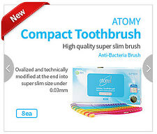 Super Slim Gold Powder coating [Compact Toothbrush] FDA 1st Class Registration