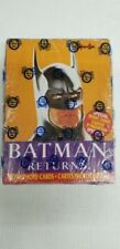1992 Batman Returns The Movie Collector Trading Card Pack Box