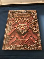 Dungeons & Dragons Monster Manual Core Rulebook III for Third edition rules