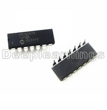 1PCS PIC16F676-I/P PIC16F676 16F676 IC MCU FLASH 1K W/AD 14-DIP NEW