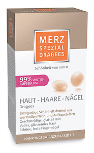 Merz Spezial Dragees Haut Haare Nägel - Nährstoffe für geschmeidige, glatte Haut