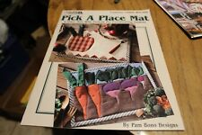 Pick a Place mat (124)