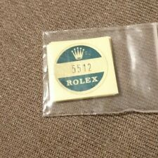 🛑B) 5512 Rolex vintage SUBMARINER Sticker Aufkleber Etiqueta Adhesivo adesivo