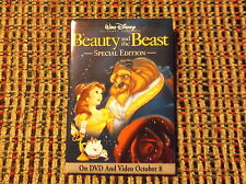 BEAUTY AND THE BEAST SPECIAL EDITION WALT DISNEY MOVIE PIN DISNEY'S