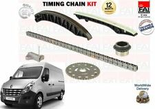 FOR RENAULT MASTER 2.3 DCI BUS VAN 2010--> NEW TIMING CHAIN KIT + GEARS