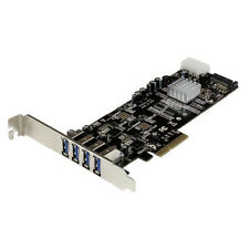 StarTech 4 Port PCI Express SuperSpeed USB 3.0 Card Adapter W/ 2 Dedicated 5gbps