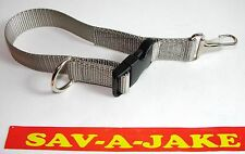 Sav-A-Jake Firefighter Glove Strap - Quick Release Clip - Silver