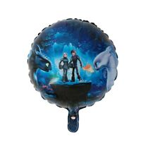 How to Train Your Dragon 18'' Orb Helium Birthday Party Balloon