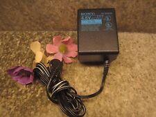 SONY AC-E455D AC Power Adaptor 4mm OD plug Yellow Tip 120VAC to DC4.5V adapter