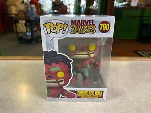 Funko POP! NIB Marvel Zombies ZOMBIE RED HULK #790