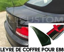 REAR TRUNK LIP SPOILER BOOT for BMW E88 1 SERIE CONVERTIBLE 08-13 118d 120d 125i