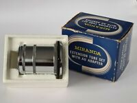 Miranda Extension Tube Set With AU Adapter Ring, Boxed & Excellent Condition