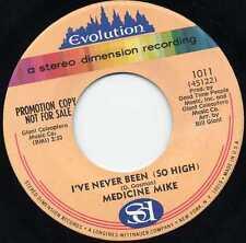 """MEDICINE MIKE """"I'VE NEVER BEEN (SO HIGH)"""" KILLER PSYCH 1968"""