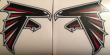 """Atlanta Falcons Qty Of 2 Decals 5.75""""x6"""" **FREE SHIPPING**"""
