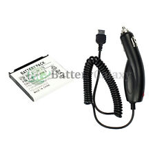 NEW HOT! Phone Replacement Battery+Car Charger for Samsung u640 Convoy 800+SOLD