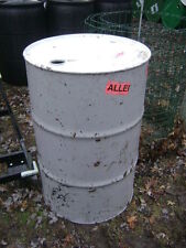 1 metal 55 Gallon barrel / drum with removable lid - local pickup only Zip 19007