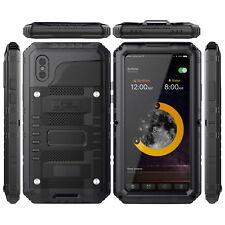 IP68 4proof armor case for iPhone X metal aluminum shockproof waterproof covers