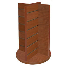 """New Cherry Countertop Spinner 4-Way Display 12""""w x 12""""d x 20-3/4""""h"""
