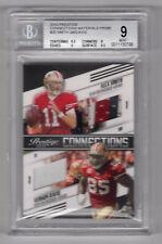 # /50 Alex Smith Vernon Davis Dual Prime Jersey  2010 Prestige CONNECTIONS BGS 9