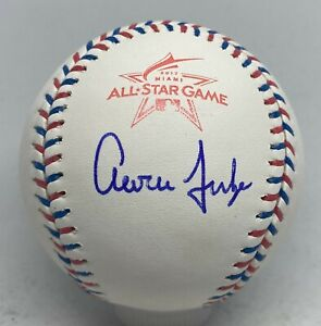 Aaron Judge Signed 2017 All Star Game Baseball JSA GRADED 9 AUTO LOA Yankees