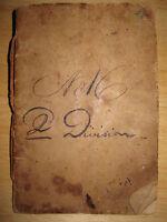 ANTIQUE ANTEBELLUM 1838 AMERICAN CAKES CUP WEDDING COOKBOOK RECIPES HEWETT BEALS