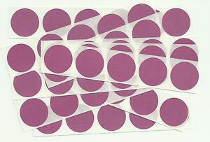 Pink 1 Inch Round Scratch Off Stickers (Pack of 20 or 50) Birthday, Wedding