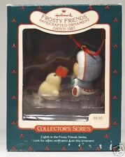"""1987 Hallmark """"Frosty Friends"""" 8th in the Series"""