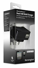 DUAL USB WALL CHARGER 4.2AMP UK EU US PLUG FOR IPAD IPHONE SAMSUNG TABLET CAMERA