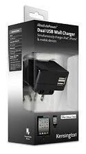 DUAL USB WALL CHARGER 4.2AMP UK EU US PLUG FOR IPAD IPHONE SAMSUNG TABLET CAMERA