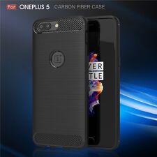 For OnePlus 5 One Plus Five Shockproof Rugged Silicone Matte Back Case Cover