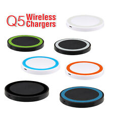 Q5 Colour Circle Charging Mat QI Wireless Charger for Samsung GalaxyS6 /S6 edge