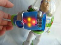 Talking Buzz Lightyear Blue Gravity Hand Disney Toy Story Special Edition Figure