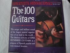 THE 100 GUITARS SERENATA SENSACIONAL VINYL LP COLUMBIA RECORDS RECORDED IN SPAIN