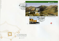 Portugal Madeira 2017 FDC Castles Europa 2v MS Cover Tourism Architecture Stamps