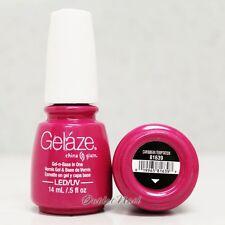 Gelaze China Glaze LED UV Gel Color Polish 0.5 oz - Caribbean Temptation 81639