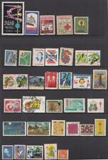 Latin America Anti-Tb Charity Seals & other Cinderellas 35 diff stamps