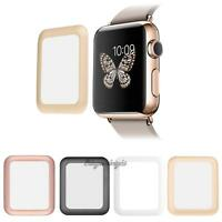 Premium Tempered Glass Screen Protector Full Cover for Apple Watch iWatch 38mm